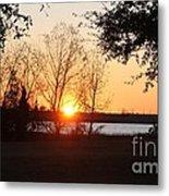 Mississippi Sunset 9 Metal Print