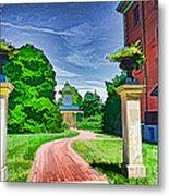 Missouri Botanical Garden Pathway Metal Print