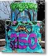 Missouri Botanical Garden Stl250 Birthday Cake Metal Print