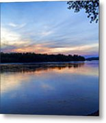 Missouri River Blues Metal Print