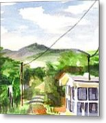 Missouri View II Metal Print