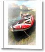Mist On The Arno Poster Metal Print
