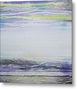 Mist On The Beacon Redesdale V Metal Print