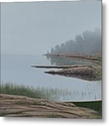 Mistified Metal Print
