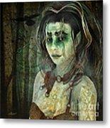 Mistress Of The Dark Woods Metal Print