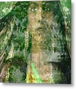 Mistress Of The Wind Metal Print
