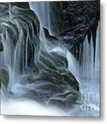 Misty Falls - 70 Metal Print