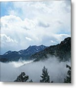 Misty Mountain Colorado Metal Print
