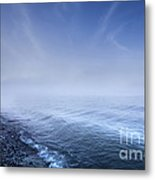 Misty Seaside In The Evening, Mons Metal Print by Evgeny Kuklev