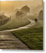 Misty Sunrise  2 Metal Print