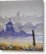 Misty Watercolors Metal Print