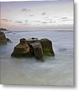 Misty Waters Metal Print by Peter Tellone