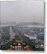 Misty Wuhan Metal Print