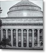 Mit Building 10 And Great Dome II Metal Print