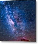Mitchell Butte Milky Way Metal Print