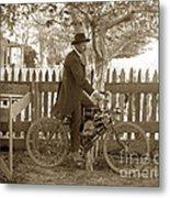 Mitchell Motorcycle Circa 1907 Metal Print