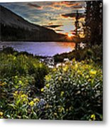 Mitchell Sunrise Metal Print