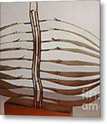 Mitotic Spindle Metal Print