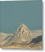 Mitre Peak Catching Some Rays Metal Print