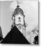 Mittenwald Kirchturm Metal Print