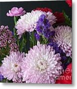 Mixed Bouquet Metal Print