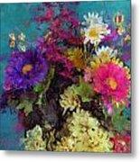 Mixed Bouquet Metal Print
