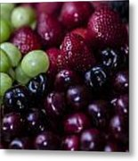 Mixed Fruit Metal Print