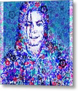 Mj Floral Version 2 Metal Print