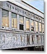 Mkt Train Passanger Car Metal Print