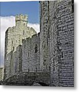 Moat And Bridge Metal Print