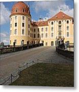 Moated Castle Moritzburg Metal Print