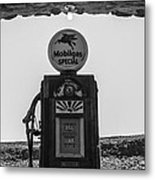 Mobilgas Pumps Metal Print