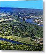 Moccasin Bend Metal Print