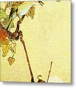 Mockingbird 1890 Metal Print by Padre Art