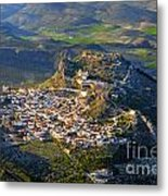 Moclin Castle From The Air Metal Print