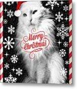 Mod Cards - I'm A Star Baby I'm A Christmas Star - Merry Christmas Metal Print