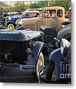 Model A With Trailor Metal Print