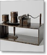 Model Of A Spindle Tool, Anonymous Metal Print