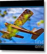 Model Plane 2 Metal Print