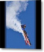 Model Plane 5 Metal Print