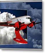 Model Planes Dc3 01 Metal Print