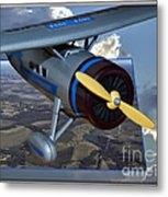 Model Planes Top Wing 04 Metal Print