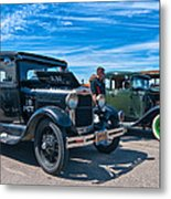 Model T Fords Metal Print