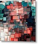 Modern Abstract Ix Metal Print