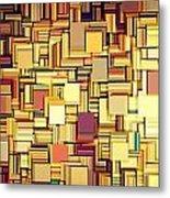 Modern Abstract Xxi Metal Print