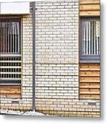 Modern Apartment Windows Metal Print