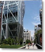 Modern Architecture - Nyc Metal Print