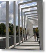Modern Archway - Schwerin Garden -  Germany Metal Print