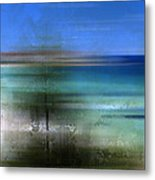 Modern-art Bondi Beach Metal Print