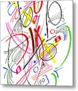 Modern Drawing Fifty-three Metal Print